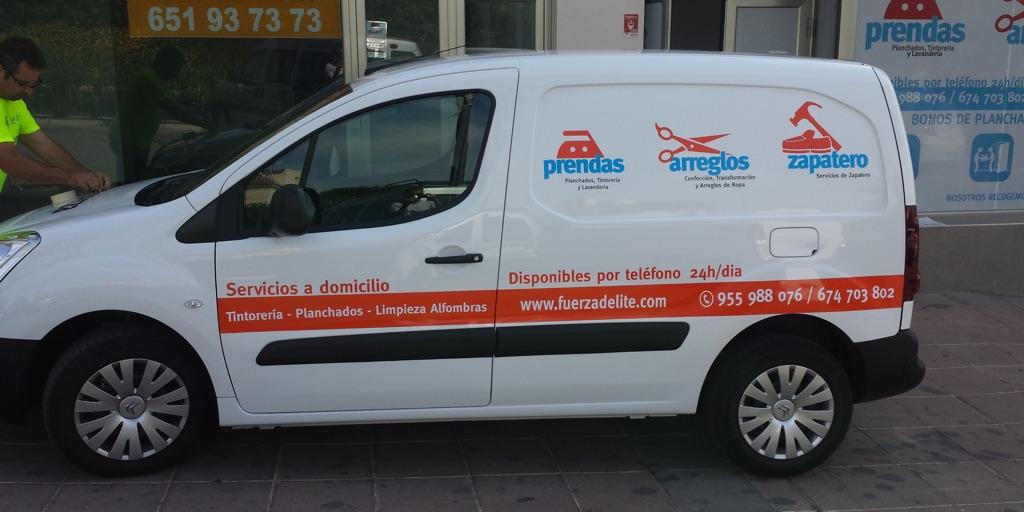 rotulación de vehículos en Sevilla