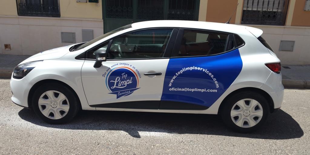 empresa de rotulación de coches Sevilla