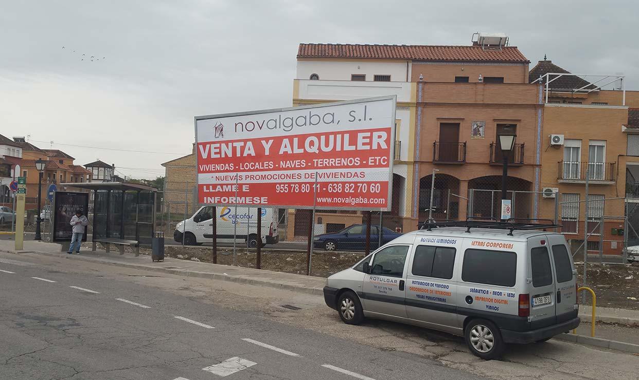 Impresión de carteles para publicidad