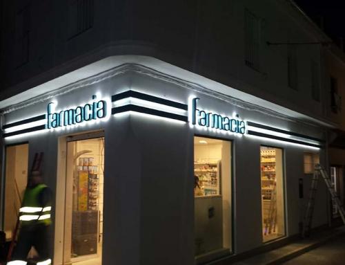 luminoso para farmacia sevilla