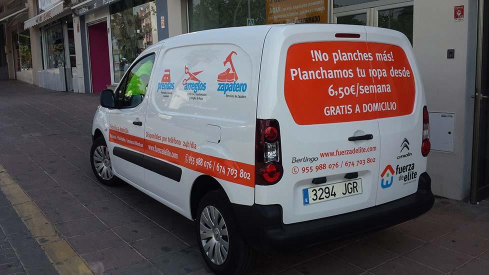 rotulación de vehiculos en Sevilla